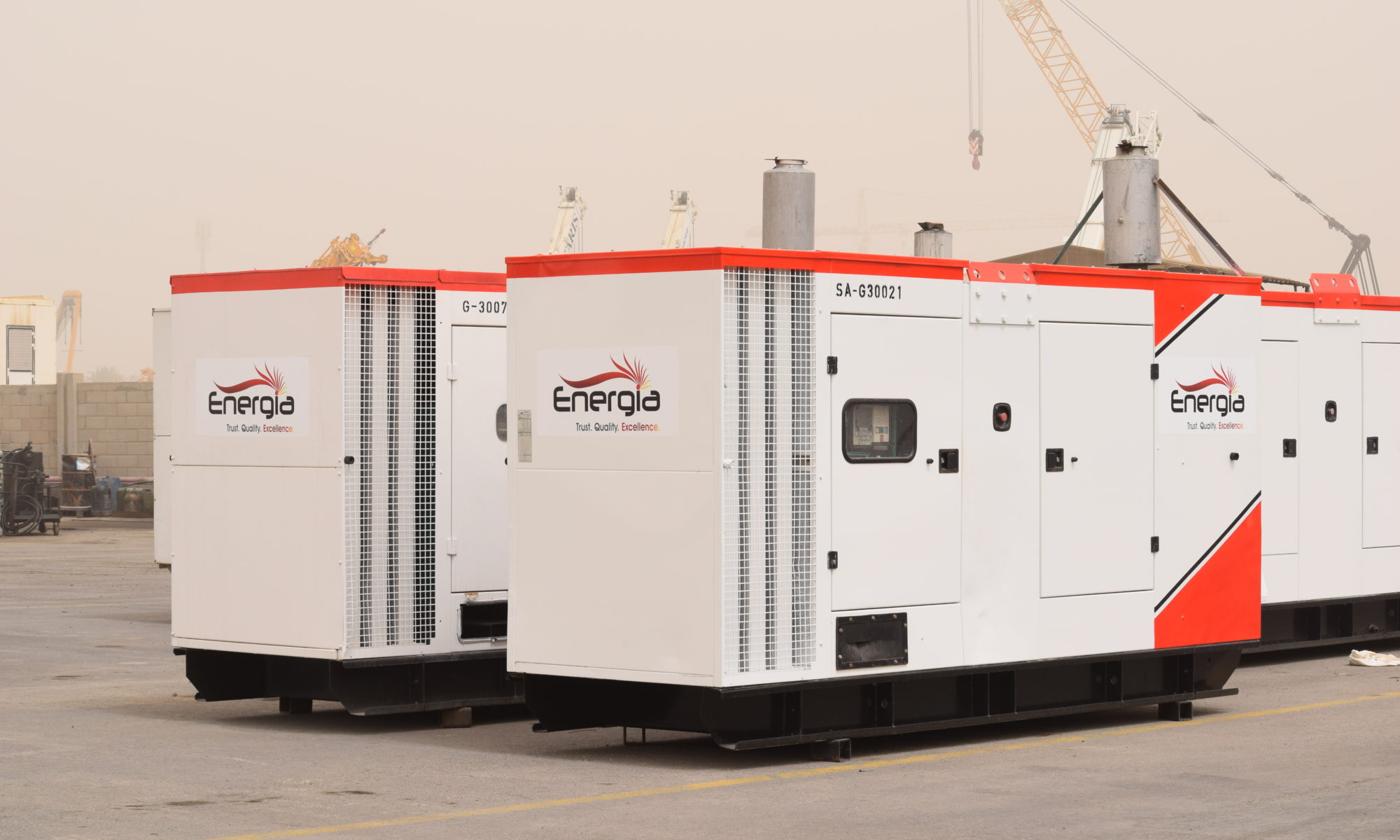 Energia Load demand generators